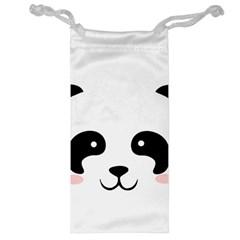 Panda  Jewelry Bag by Valentinaart