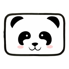 Panda  Netbook Case (medium)  by Valentinaart