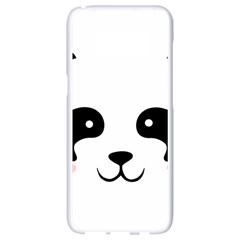 Panda  Samsung Galaxy S8 White Seamless Case by Valentinaart