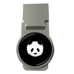 Panda  Money Clips (round)  by Valentinaart