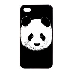 Panda  Apple Iphone 4/4s Seamless Case (black) by Valentinaart