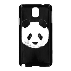 Panda  Samsung Galaxy Note 3 Neo Hardshell Case (black) by Valentinaart