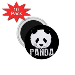Panda  1 75  Magnets (10 Pack)  by Valentinaart