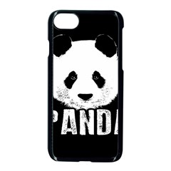 Panda  Apple Iphone 7 Seamless Case (black) by Valentinaart