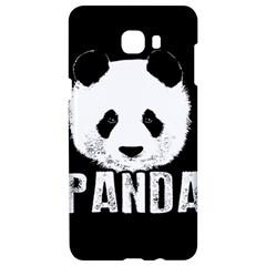 Panda  Samsung C9 Pro Hardshell Case  by Valentinaart