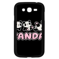 Panda  Samsung Galaxy Grand Duos I9082 Case (black) by Valentinaart