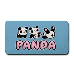 Panda  Medium Bar Mats by Valentinaart