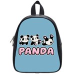 Panda  School Bag (Small) Front