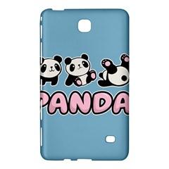 Panda  Samsung Galaxy Tab 4 (7 ) Hardshell Case  by Valentinaart