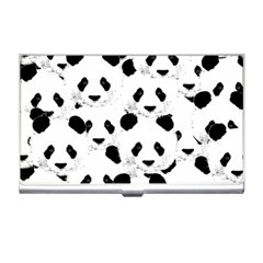 Panda Pattern Business Card Holders by Valentinaart
