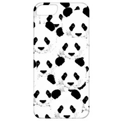 Panda Pattern Apple Iphone 5 Classic Hardshell Case by Valentinaart