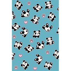 Panda Pattern 5 5  X 8 5  Notebooks by Valentinaart