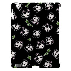 Panda Pattern Apple Ipad 3/4 Hardshell Case (compatible With Smart Cover) by Valentinaart