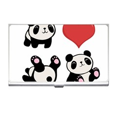 Panda Business Card Holders by Valentinaart