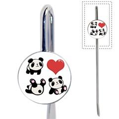 Panda Book Mark by Valentinaart