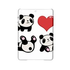 Panda Ipad Mini 2 Hardshell Cases by Valentinaart