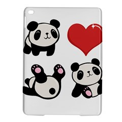 Panda Ipad Air 2 Hardshell Cases by Valentinaart