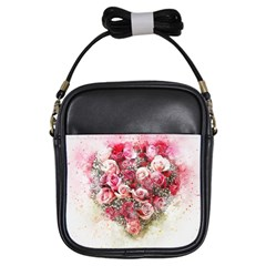 Flowers 2548756 1920 Girls Sling Bags by vintage2030