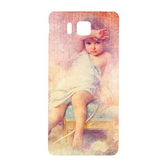 Baby In Clouds Samsung Galaxy Alpha Hardshell Back Case by vintage2030