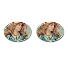 Lady Cufflinks (oval) by vintage2030