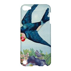 Blue Bird Apple Ipod Touch 5 Hardshell Case by vintage2030