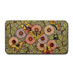 Flower And Butterfly Medium Bar Mats by vintage2030