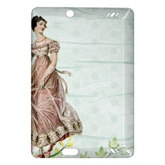 Vintage Woman Amazon Kindle Fire Hd (2013) Hardshell Case by vintage2030