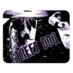 Street dogs Double Sided Flano Blanket (Large)   Blanket Back