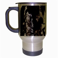 Street Dogs Travel Mug (silver Gray) by Valentinaart