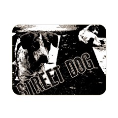 Street Dogs Double Sided Flano Blanket (mini)  by Valentinaart
