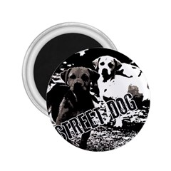 Street Dogs 2 25  Magnets by Valentinaart