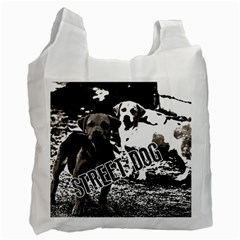 Street Dogs Recycle Bag (one Side) by Valentinaart