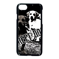 Street Dogs Apple Iphone 8 Seamless Case (black) by Valentinaart