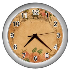 Background 1365750 1920 Wall Clocks (silver)  by vintage2030