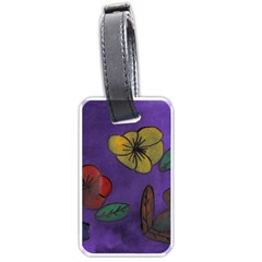 Flowers Luggage Tags (two Sides) by snowwhitegirl