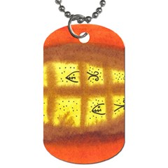 Fish Egg Dog Tag (two Sides) by snowwhitegirl