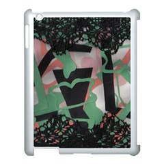 Cool Apple Ipad 3/4 Case (white) by snowwhitegirl