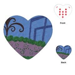Purple Shoe Playing Cards (heart)  by snowwhitegirl