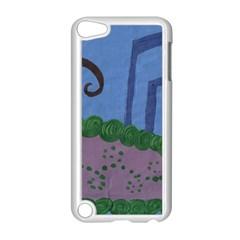 Purple Shoe Apple Ipod Touch 5 Case (white) by snowwhitegirl