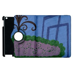 Purple Shoe Apple Ipad 3/4 Flip 360 Case by snowwhitegirl