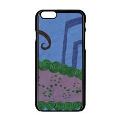 Purple Shoe Apple Iphone 6/6s Black Enamel Case by snowwhitegirl