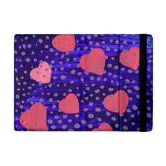 Underwater Pink Hearts Apple Ipad Mini Flip Case by snowwhitegirl