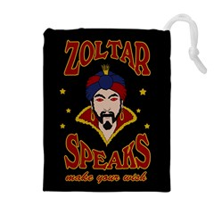 Zoltar Speaks Drawstring Pouches (extra Large) by Valentinaart
