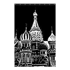 Moscow Shower Curtain 48  X 72  (small)  by Valentinaart