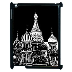 Moscow Apple Ipad 2 Case (black) by Valentinaart
