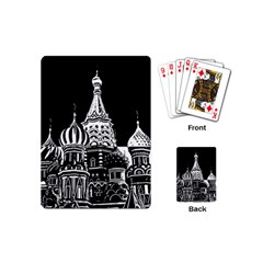 Moscow Playing Cards (mini)  by Valentinaart