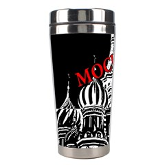 Moscow Stainless Steel Travel Tumblers by Valentinaart