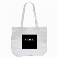 Pride Tote Bag (white) by Valentinaart