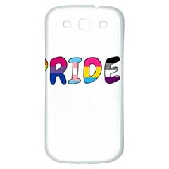 Pride Samsung Galaxy S3 S Iii Classic Hardshell Back Case by Valentinaart