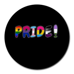 Pride Round Mousepads by Valentinaart